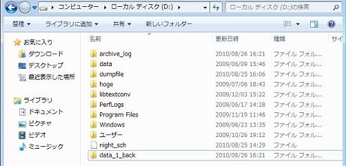 図: データベースクラスタをまるごとコピー