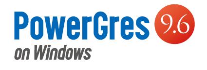 PowerGres on Windows V9.6